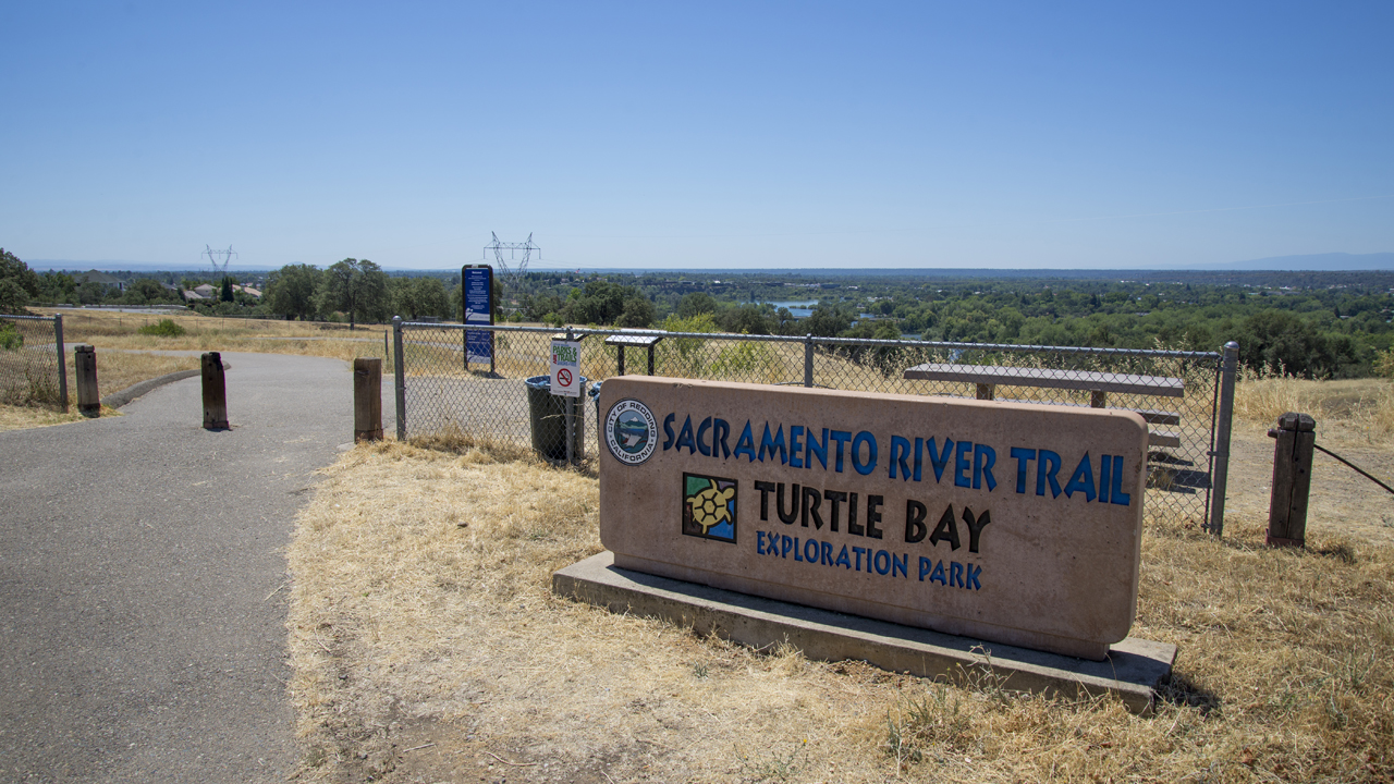 Sacramento River Tail entrance