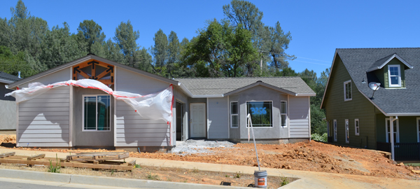 Buckeye Pines new homes in Redding CA