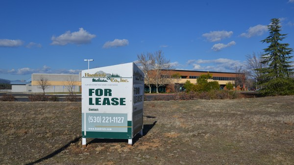 This former shampoo factory lies mostly vacant at Mountain Lakes Industrial Park